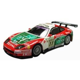 京商 1/64 フェラーリ レーシング ミニカーコレクション  フェラーリ 575GTC No.11 赤/緑  未開封新品同様品