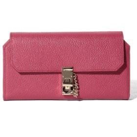 (SMIR NASLI/サミールナスリ)Leather Lock Wallet/レディース RED