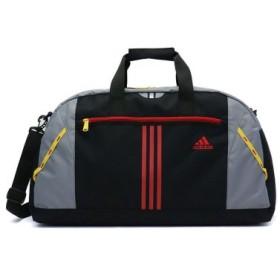 (GALLERIA/ギャレリア)アディダス adidas キッズ ボストンバッグ 2WAYボストンバッグ バッグ 46Lニア 子ども 旅行 合宿 スポーツ 男の子 スクール 小学生 47949/レディース ブラック