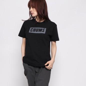チャムス CHUMS レディース トレッキング 半袖Tシャツ Heavy Weight CHUMS Logo T-Shirt CH11-1487