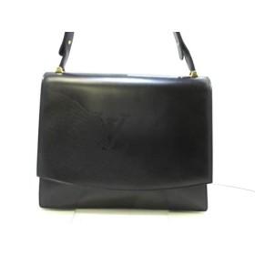 【中古】 ルイヴィトン LOUIS VUITTON ショルダーバッグ オペラライン 美品 デルフ M63932 ブラック