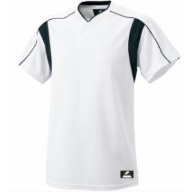 エスエスケイ(SSK) 2ボタンプレゲームシャツ SSK-BW2080 1090 【野球 ユニホーム セカンダリー】