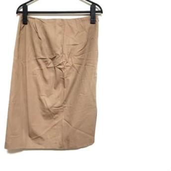 【中古】 マルタンマルジェラ MARTIN MARGIELA スカート サイズ40 M レディース ライトブラウン