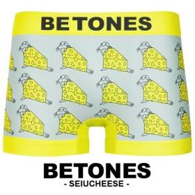 BETONES ボクサーパンツ メンズ セイウチーズ SEIUCHEESE おもしろパンツ ダジャレ ブランド ビトーンズ