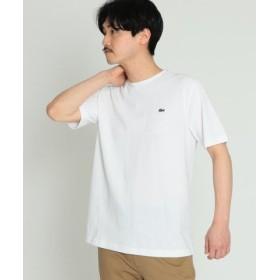 (BEAMS MEN/ビームス メン)【WEB限定】LACOSTE/コットン クルーネック Tシャツ/メンズ 001WHITE