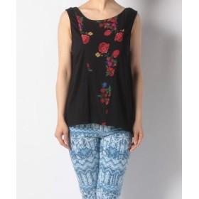 (Desigual/デシグアル)Tシャツ/レディース ブラック系