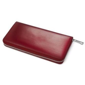 (MURA/ムラ)MURA 長財布 財布 メンズ 人気 本革 コードバン調 ラウンドファスナー ファスナー/メンズ ワイン