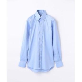 (TOMORROWLAND/トゥモローランド)140/2コットンロイヤルオックスフォード ボタンダウン ドレスシャツ NEW BD-4/メンズ ブルー 送料無料