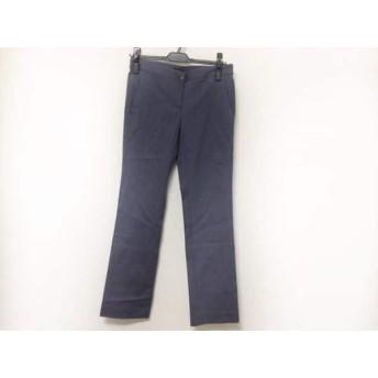 【中古】 セオリー theory パンツ サイズ2 S レディース 白 ブルーグレー