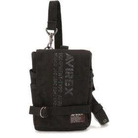 (AVIREX/アヴィレックス)シザーバッグ/AVX341/SCISSOR BAG/メンズ BLACK