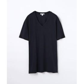 (TOMORROWLAND/トゥモローランド)ベーシック VネックTシャツ MLJ3352/メンズ ネイビー 送料無料