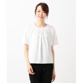 (JIYU-KU/自由区)【洗える】PREMIER SMOOTH カットソー/レディース ホワイト系