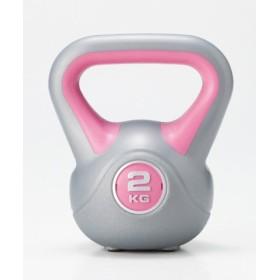 (LivingLinks/リビングリンクス)ケトルダンベル 2kg/ユニセックス ピンク
