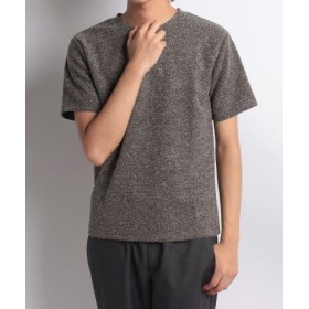 (URBAN RESEARCH OUTLET/アーバンリサーチ アウトレット)【ITEMS】PILECrew-neckTシャツ/メンズ ブラウン
