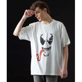 (5351POUR LES HOMMES/5351プール・オム)ヴェノム ビッグTシャツ/メンズ ホワイト