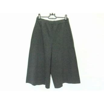 【中古】 ニジュウサンク 23区 パンツ サイズ38 M レディース ダークグレー