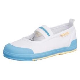 (FOOT PLACE(Kids)/フットプレイス(キッズ))ムーンスター moonstar 室内履き うわぐつ うわばき キャロットCR11 CARROT CR11/レディース サックス