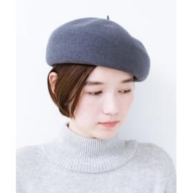 (haco!/ハコ)バスクベレー帽/レディース グレー