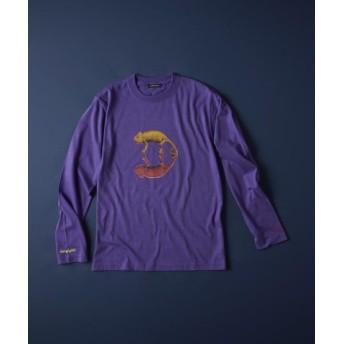 (LOVELESS/ラブレス)【MOTTY】カメレオンロングTシャツ/レディース パープル7