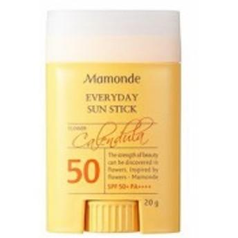 マモンド Mamonde エブリデイ サン スティック SPF50+ PA++++ 日焼け止め UVカット 韓国コスメ