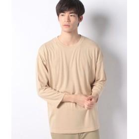 (SPENDY'S Store/スペンディーズストア)ビッグシルエットロング7分袖Tシャツ/メンズ ベージュ