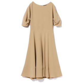 (BEAMS OUTLET/ビームス アウトレット)Demi-Luxe BEAMS/タック ドルマンスリーブ ワンピース/レディース BEIGE