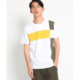 Dessin / デッサン 【洗える】ブロッキング天竺 Tシャツ