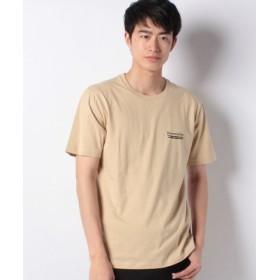 (WEGO/ウィゴー)ストリートモチーフTシャツ(S)/メンズ ベージュ