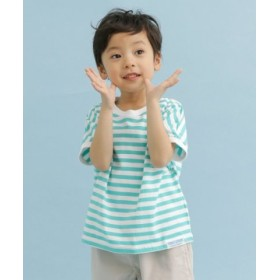 (URBAN RESEARCH DOORS/アーバンリサーチドアーズ)FORK & SPOON ボーダーワイドTシャツ(KIDS)/レディース OFFXMNT