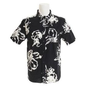 RVCA SAGE VAUGHN LINEAR ショートスリーブシャツ AJ041125 BLK (Men's)