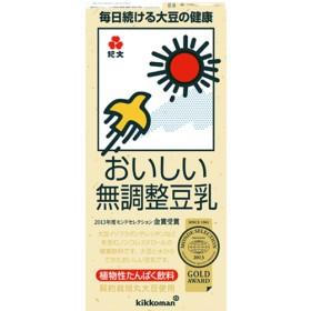 キッコーマン おいしい無調整豆乳 (1L6本入)