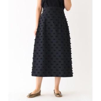 DRESSTERIOR / ドレステリア リボンジャガードフォルムスカート