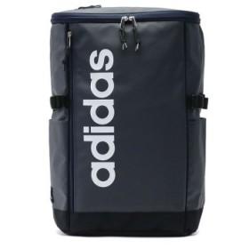 (GALLERIA/ギャレリア)アディダス リュック adidas スクールバッグ リュックサック デイパック スクエア型 A3 B4 A4 31L 55483/ユニセックス ネイビー系2 送料無料