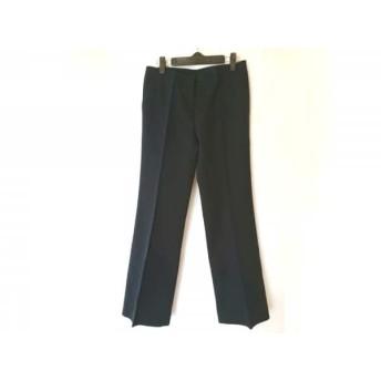 【中古】 インコテックス INCOTEX パンツ サイズ42 L メンズ ネイビー 黒