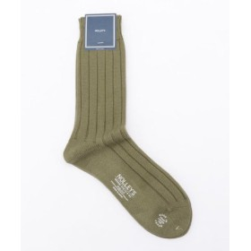 (NOLLEY'S/ノーリーズ)Accent Socks/メンズ オリーブ