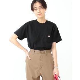 (BEAMS WOMEN/ビームス ウィメン)DANTON/ポケット Tシャツ/レディース 9/BLACK 送料無料