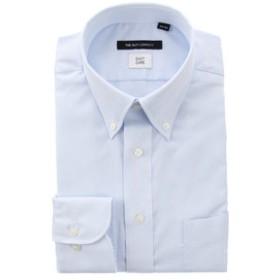 【THE SUIT COMPANY:トップス】ボタンダウンカラードレスシャツ 織柄 〔EC・BASIC〕