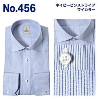 (YAMAKI official/山喜オフィシャル)JAMES GORDON 長袖ワイドカラーボタンダウンワイシャツ/メンズ その他系5
