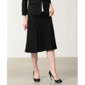 (TRANSWORK/トランスワーク)【美Skirt】【セットアップ対応】ラミーカノコスカート/レディース ブラック