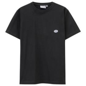 (MAC HOUSE/マックハウス)DISCUS ワンポイントTシャツ R9067-326/メンズ ブラック