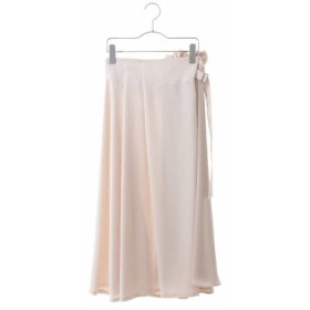 (HIROKO BIS/ヒロコビス)【洗える】アシメトリーデザインスカート/レディース ホワイト