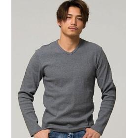 (SILVER BULLET/シルバーバレット)CavariA【キャバリア】ネックが選べるスパンテレコ長袖Tシャツ/メンズ その他