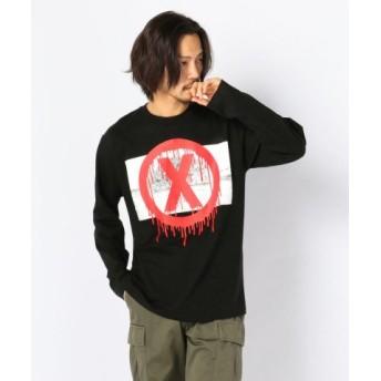 (LHP/エルエイチピー)MADDICT/マディクト/Remake L/S T-Shirts/メンズ BLACK 送料無料