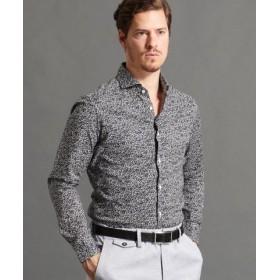 (MONSIEUR NICOLE/ムッシュニコル)フラワープリントシャツ/メンズ 09ホワイト 送料無料
