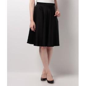 (Piccola Donna/ピッコラドンナ)ソアパールサテンスカート /レディース ブラック