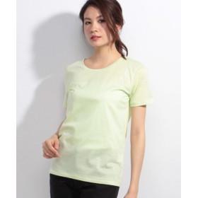 (allureville/アルアバイル)テンジクTシャツ/レディース イエロー系