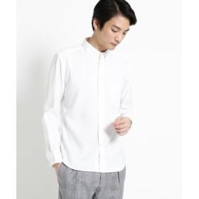 (OPAQUE. CLIP/オペークドットクリップ)【洗濯機洗いOK】ミニボタンダウンシャツ/メンズ ホワイト(001)