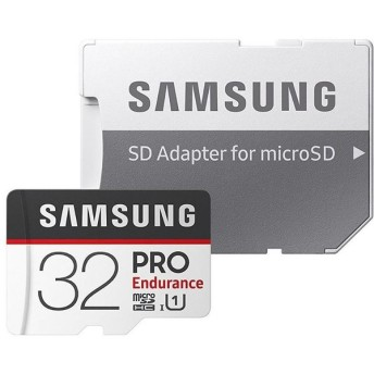32GB 高耐久設計 microSDHCカード マイクロSD Samsung PRO Endurance Class10 UHS-I U1 R:100MB/s W:30MB/s SDアダプター付 海外リテール MB-MJ32GA/CN ◆メ