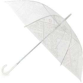 (OPAQUE. CLIP/オペークドットクリップ)バンダナビニール長傘/レディース ホワイト(001)