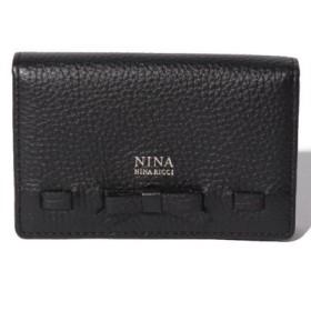 (NINA NINA RICCI/ニナ・ニナ リッチ)名刺入れ【ヴィーナスパース】/レディース クロ 送料無料